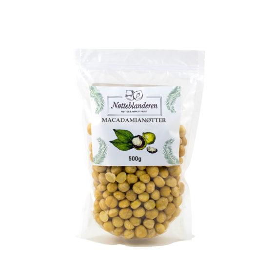 Macadamia nøtter 500g